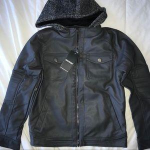 Other - Urban Republic Boys' Texture Faux Leather Jacket